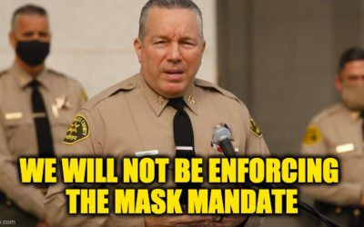L.A. County Sheriff Refuses to Enforce County's New Mask Mandate