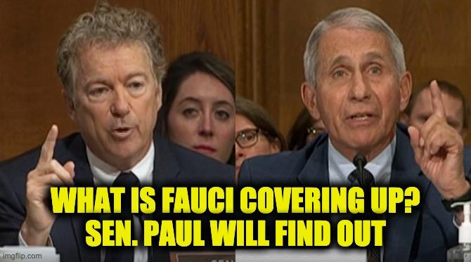 Sen. Paul destroys Fauci