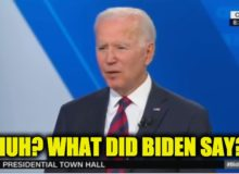Top 10  Foot-In-Mouth Moments From Biden's CNN Presidential Town Hall (VIDEO)