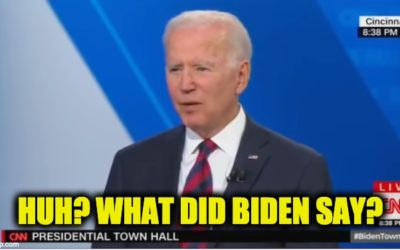 Top 10  Foot-In-Mouth Moments From Biden's CNN Presidential Town Hall (VIDEOS)