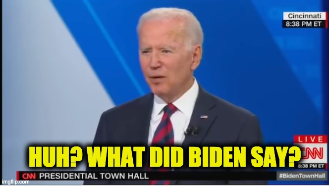 Biden's CNN town hall
