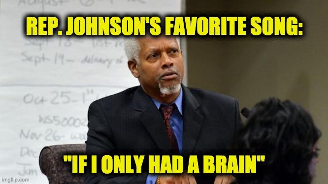 Hank Johnson spews