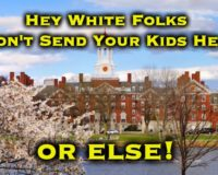 Dear Rich White Parents: Keep Your Kids Out Of Ivy League Schools To Make Room For POC, OR ELSE!