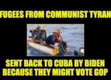 CUBANS TURNED AWAY: Biden Makes Mockery Of Refugee System