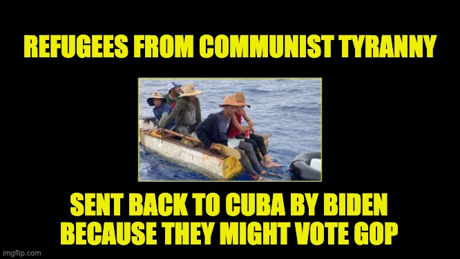 Cubans are turned away