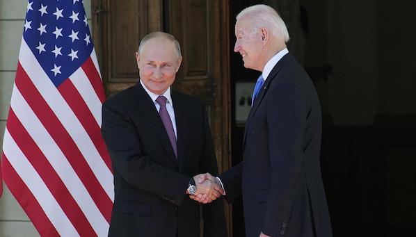 Biden chooses Putin