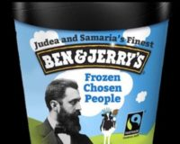 Israeli NGO Registers Trademark For 'Judea and Samaria's Ben & Jerry's,' A Knock Off Brand