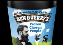 Israeli NGO Registers Trademark For 'Judea and Samaria's Ben & Jerry's' Knock Off Brand