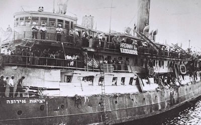 The Exodus 1947: How It Became Israel's First Ship Of State