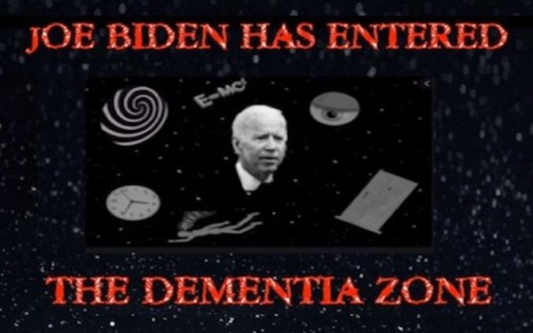 Dementia Joe's BIZARRE Answer To Reporter Asking About Defunding The Police (Video)