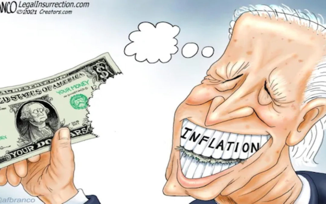 Crazytown: Inflation Rises As DC Criminals Choose More Lawless Money Printing, Spending, And Debt