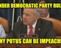 Can Biden Be Impeached Based On House Democrat Party Standards?