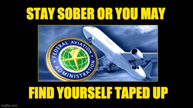 FAA keep passengers sober