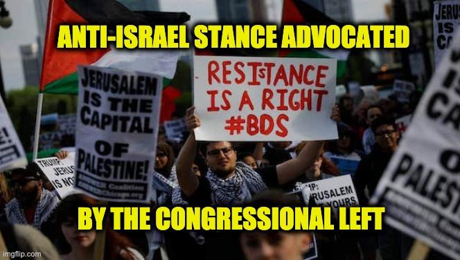 Democrats anti-Israel hatred