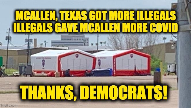 McAllen Texas more COVID