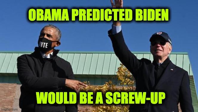 Obama warned America