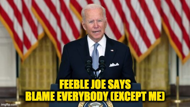 Biden Afghanistan bug-out