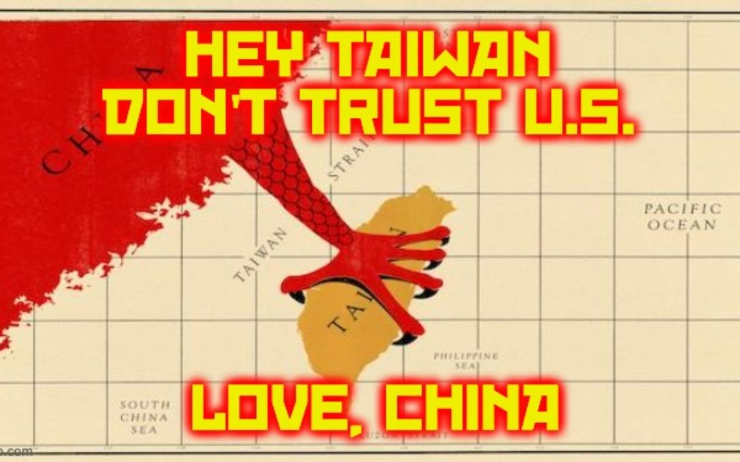 China's CCP Exploiting Biden's Afghan Bug-Out As Lesson For Taiwan