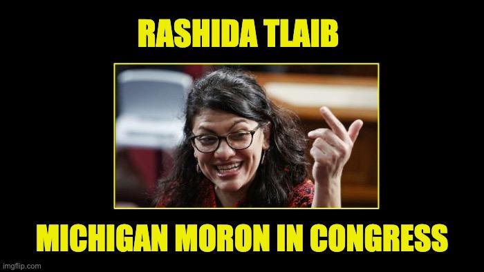Rashida Tlaib's Taliban claim