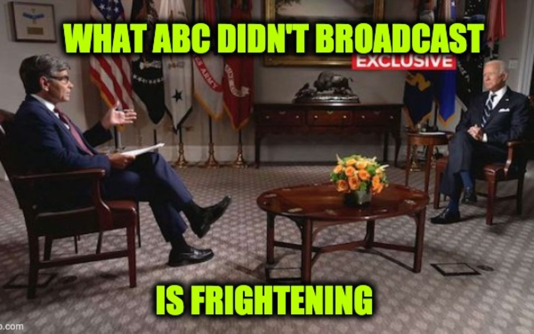 Full Transcript Issued: Here's The Three Most Damning Things Left Out Of Biden-Stephanopoulos Interview Broadcast