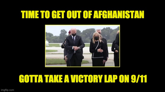 Biden blew Afghanistan