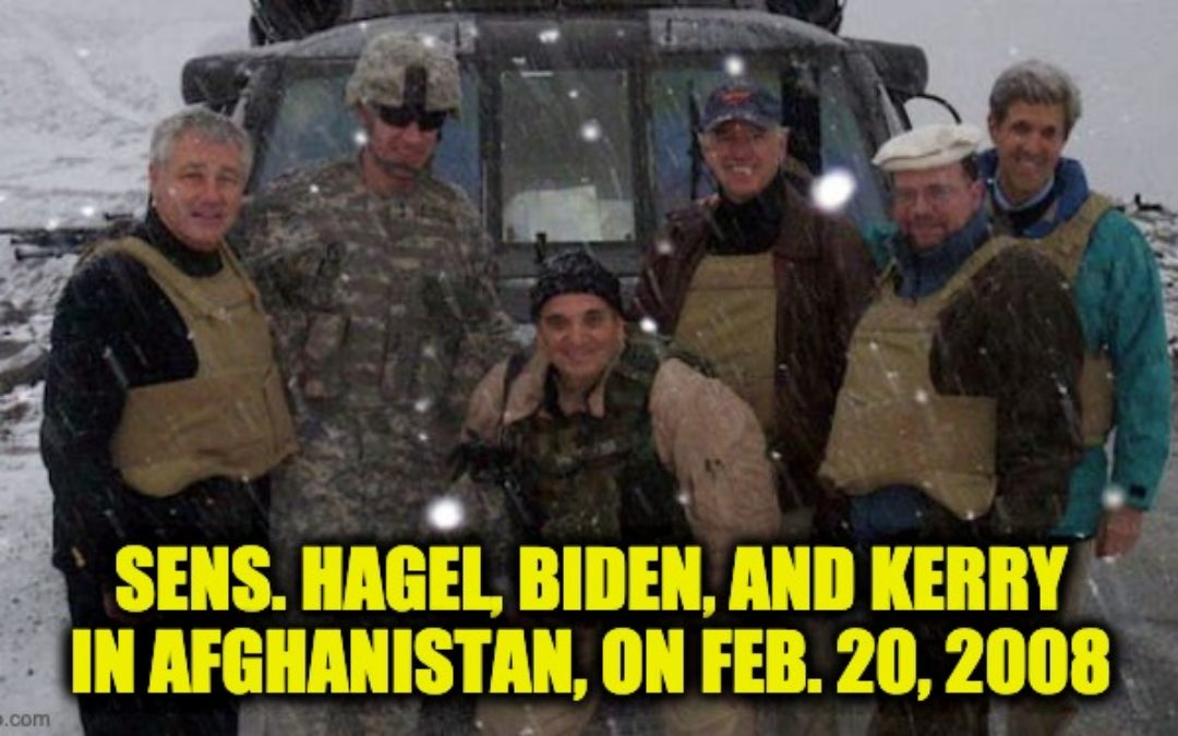 Afghan Who Saved Biden's Life In 2008, Begging POTUS To Save Him And Family From Taliban
