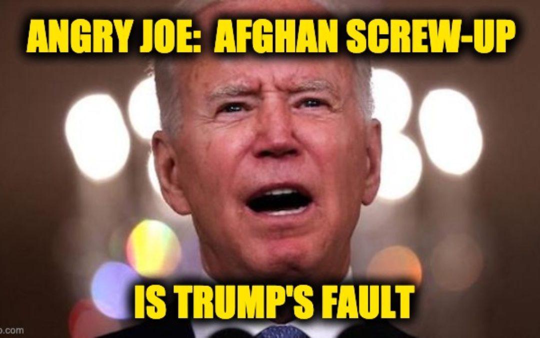 Dementia Joe's Angry Defensive Address To America Praises His 'Success' And Blames Trump