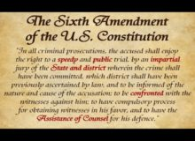 Arrested Jan. 6 Rioters Won't See Court Date Until 2022 — Sixth Amendment Violations?