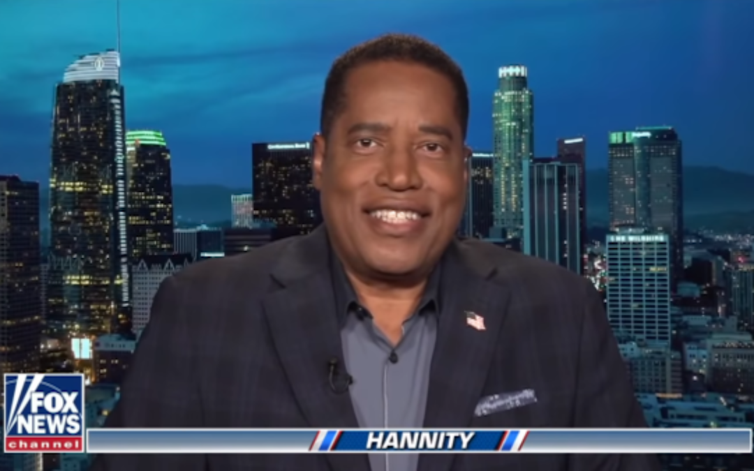 Dems, Media Reveal They're Terrified Of Larry Elder In California Recall Election
