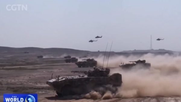 Russia China joint exercise