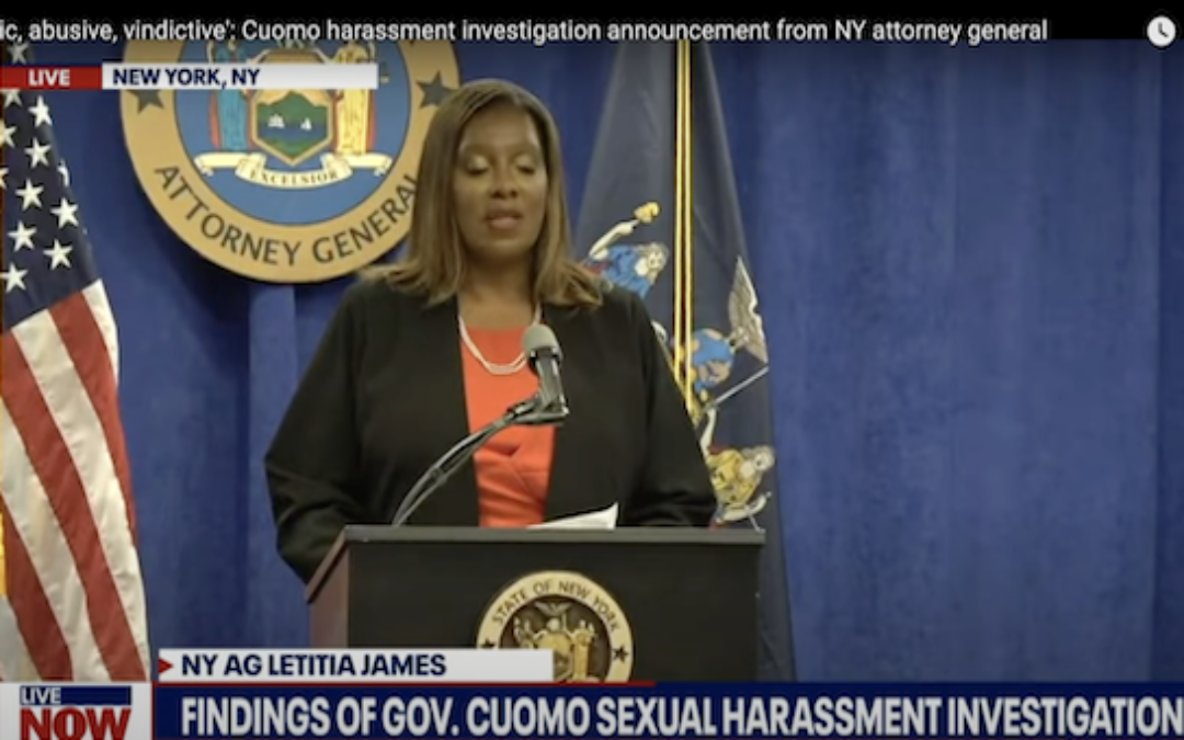 New York AG's Report Shows Cuomo To Be A Sexual Thug (Video And Full Report)
