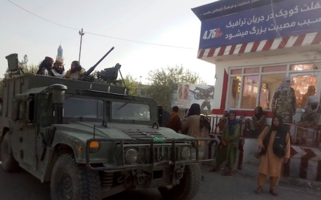 Afghanistan Falling Just A Month After Biden Says It's Unlikely Taliban Will Take Over (VIDEO)