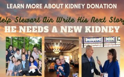 My Good Friend Is Looking For A Kidney Donor: PLEASE Attend Zoom Webinar Sept. 13.