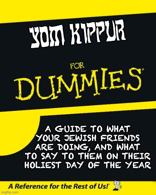 Yom Kippur primer
