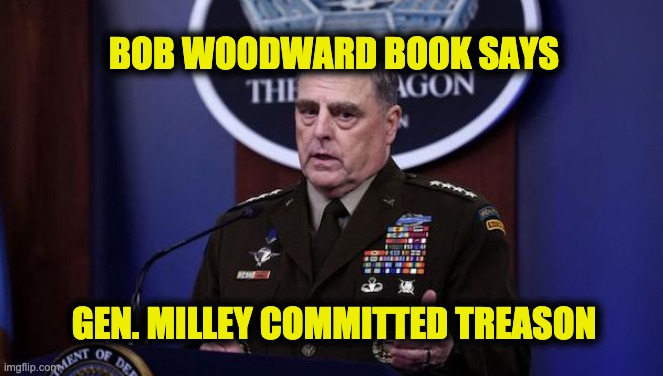 Gen. Milley committed treason