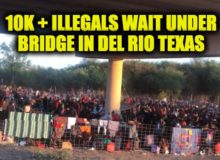 U.S. Border Agents Encountered More than 200,000 Illegals in August, a 233% Increase