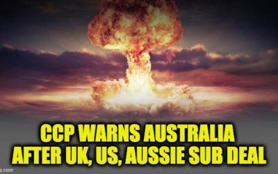 Nuke Australia? China's CCP News Names Aussies As Target After Sub Deal Announced