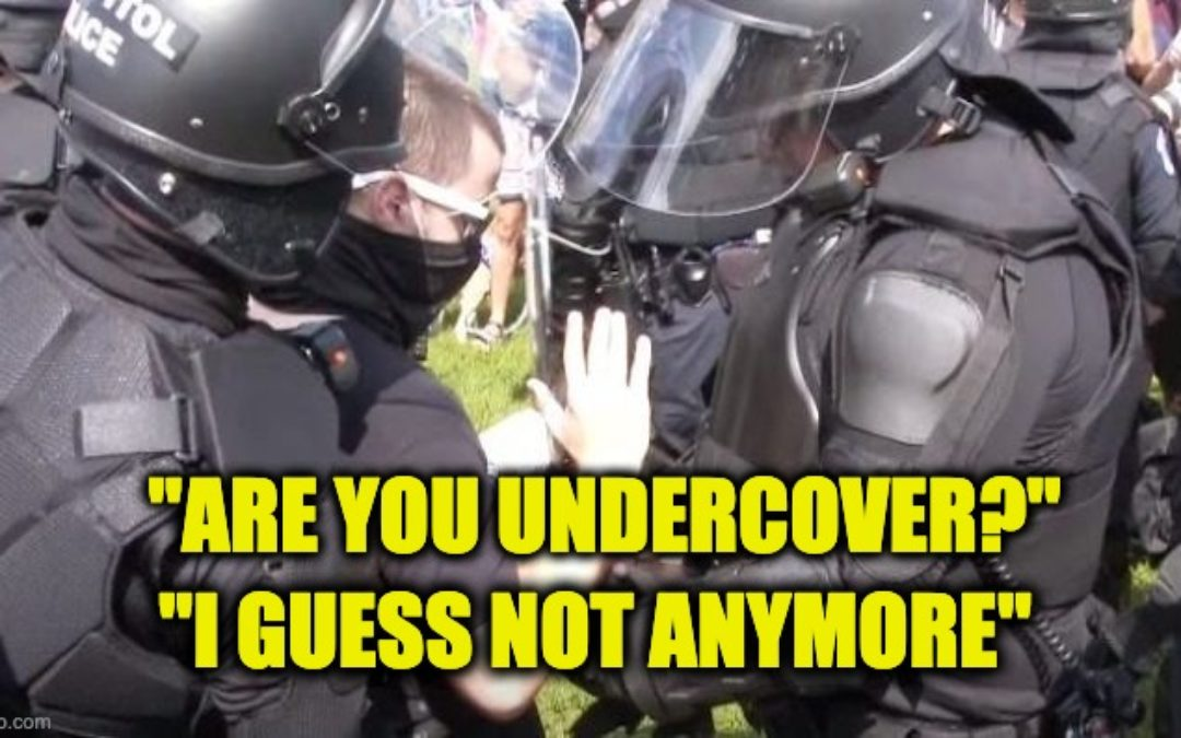 Armed Person Arrested During J6 Rally Was UNDERCOVER COP