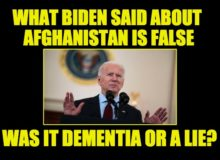 Generals' Testimony Shows Biden Lied To America About Afghanistan (Video)