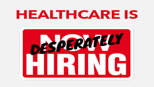 shortage of healthcare workers