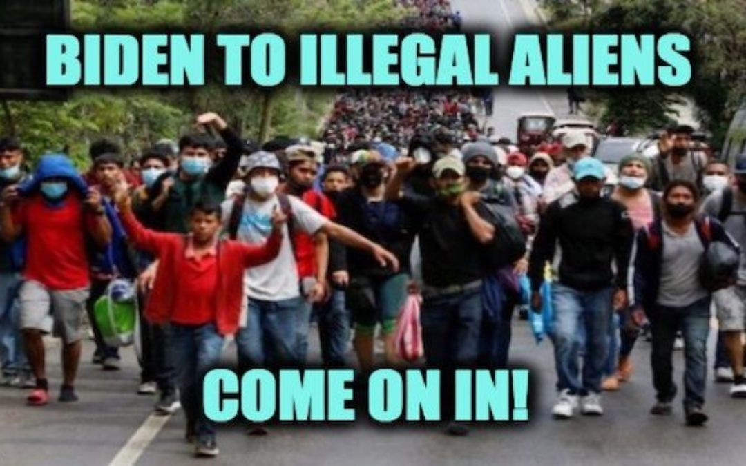 Catch-And-Release Of Illegals Up Almost 440,000% Under Biden