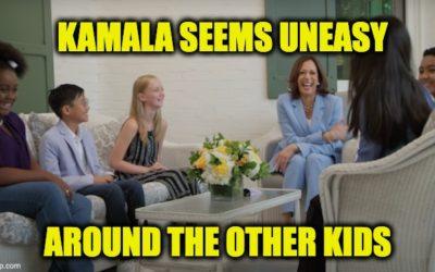 "Kamala Harris Space Video Uses Child Actors Instead Of ""Real"" Kids"