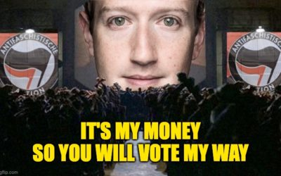 Facebook's Zuckerberg Spent $419.5 MILLION To Sway The 2020 Election