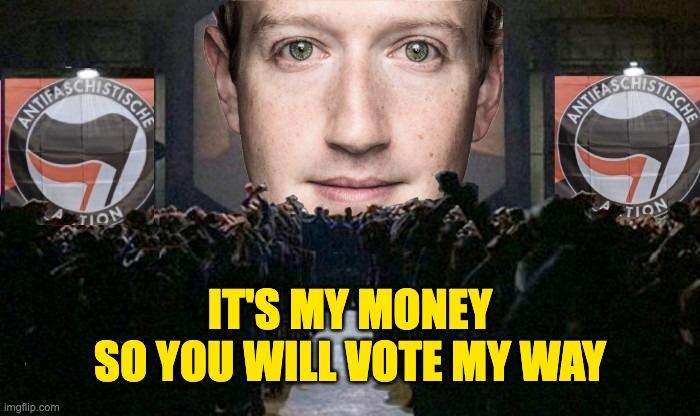 Zuckerberg millions swayed 2020 election