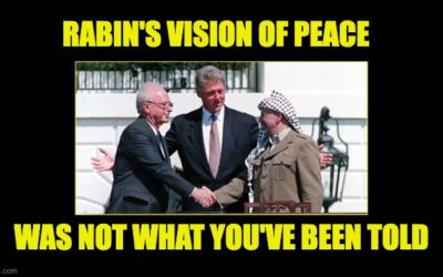Yitzhak Rabin's Vision Of Peace Wasn't What The Liberals Claim