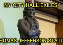 NYC Exiles Thomas Jefferson Statue From City Hall