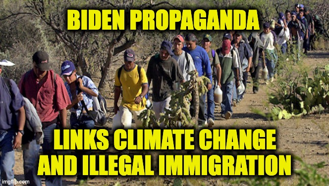 illegal immigration to climate change