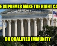Qualified Immunity: Supreme Court Makes The Right Call