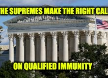 Qualified Immunity: Supreme Court Makes The Right Call In Two Cases