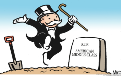 Goodbye Middle Class: Fifty Percent Of All US Workers Made $34,612.04 Or Less Last Year